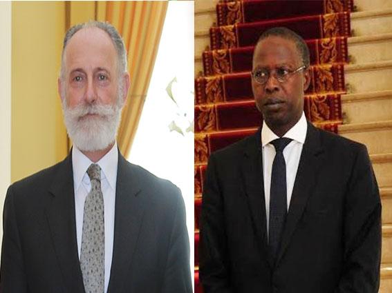 Pm Mahammed Boun Abdallah Dionne et Joaquín González-Ducay, Ambassadeur