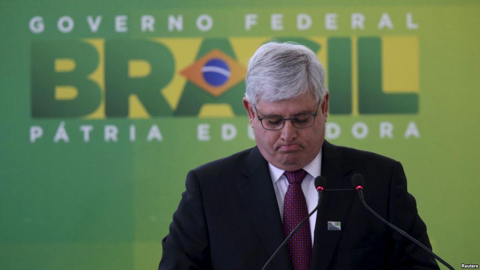 Le procureur général du Brésil Rodrigo Janot, Brasilia, 17 septembre 2015