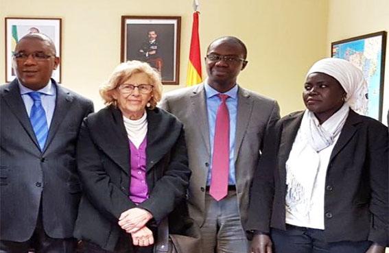 Espagne le directeur des s n galais de l ext rieur sory for Ministere des senegalais de l exterieur