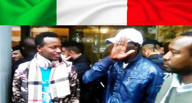 Italie Des Compatriotes Assiegent Le Consulat Du Senegal A Milan